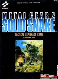 Metal Gear 2 Solid Snake MSX