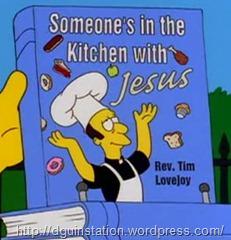 Alguien esta en la cocina con jesus
