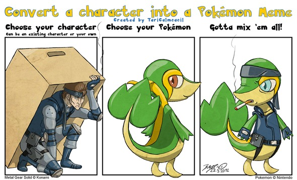 character_into_pokemon_meme___solid_snivy_by_taricalmcacil-d50q4dr