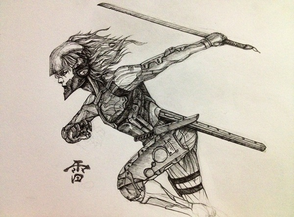 raiden_sketch_by_penator-d5exdl4
